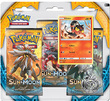 Pokemon TCG Sun & Moon 3-Pack Blister: Litten