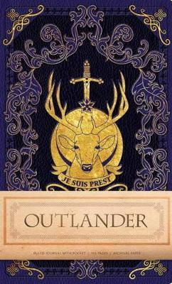 Outlander Hardcover Ruled Journal by Insight Editions image