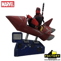 Marvel: Deadpool (Rocket Ride) - Premium Motion Statue