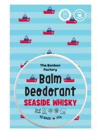 The Bonbon Factory Sea Side Whiskey Deodorant