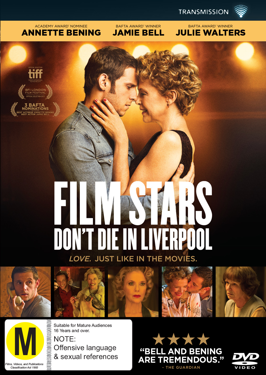Film Stars Don't Die In Liverpool on DVD image