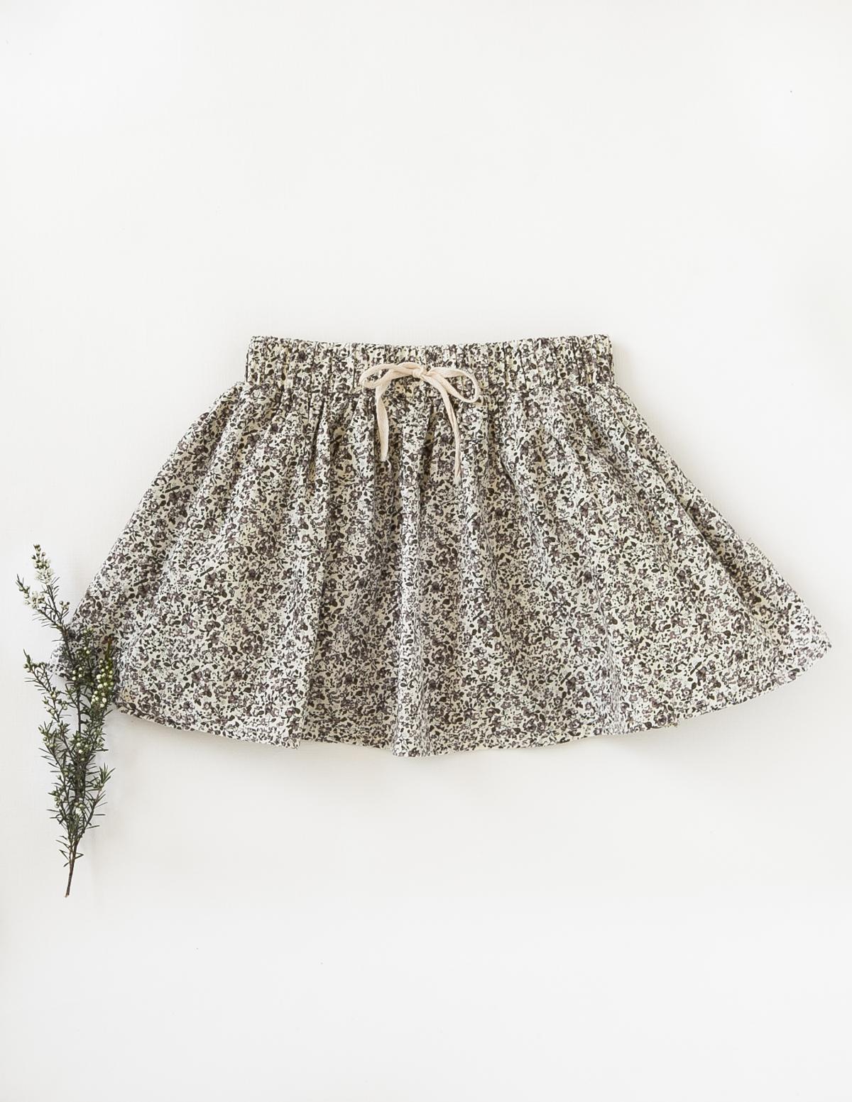 Karibou Kids: Dance and Play Cotton Skirt - Wildflower 4YRS image