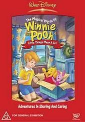 The Magical World Of Winnie The Pooh - Volume 2 :  Little Things Mean A Lot on DVD