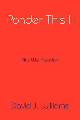Ponder This II by David J Williams image