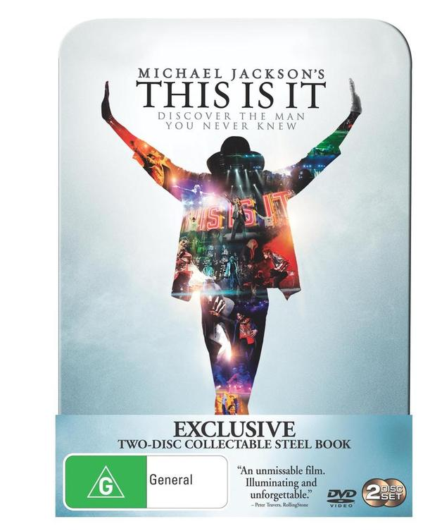 Michael Jackson - This Is It: Limited Edition Steel Book (2 Disc Set)
