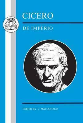 De Imperio by Marcus Tullius Cicero