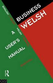 Business Welsh by Robert Dery image