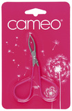 Cameo Beauty Tweezers with Scissor Handle