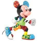 Romero Britto: Track & Field Mickey - Medium Figure