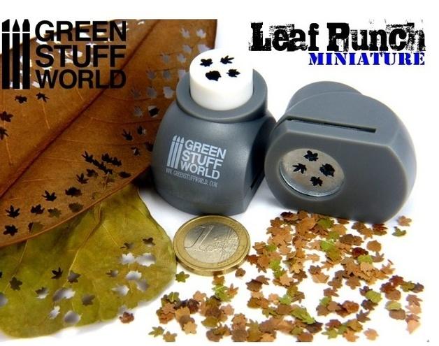 Green Stuff World - Miniature Leaf Punch (Grey)