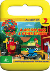 Tractor Tom - A Job For Buzz And Other Stories on DVD
