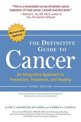 Definitive Guide To Cancer by Lise Alschuler image
