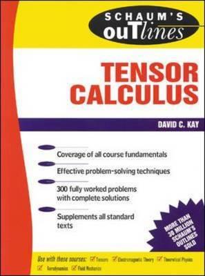 Schaum's Outline of Tensor Calculus | David C Kay Book | In-Stock