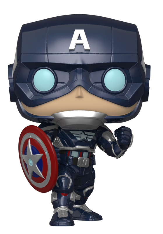 Avengers (VG2020): Captain America (Glow) - Pop! Vinyl Figure