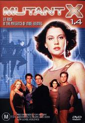 Mutant X 1.4 on DVD