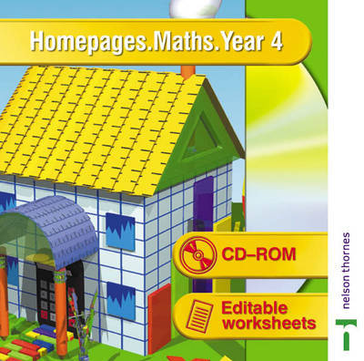 Homepages Maths: Year 4 by Jackie Cook image