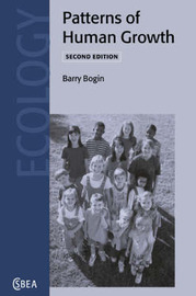 Cambridge Studies in Biological and Evolutionary Anthropology: Series Number 23 by Barry Bogin