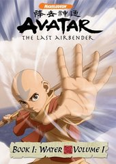 Avatar: The Last Airbender - Book 1: Water - Volume 1 on DVD