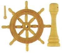 Artesania Latina Wooden Ship Wheel 40mm