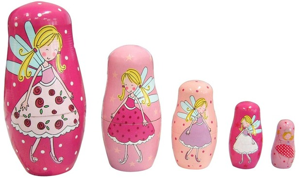 Fun Factory: Fairy Nesting Dolls