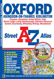 Oxford Street Atlas by Geographers A-Z Map Company
