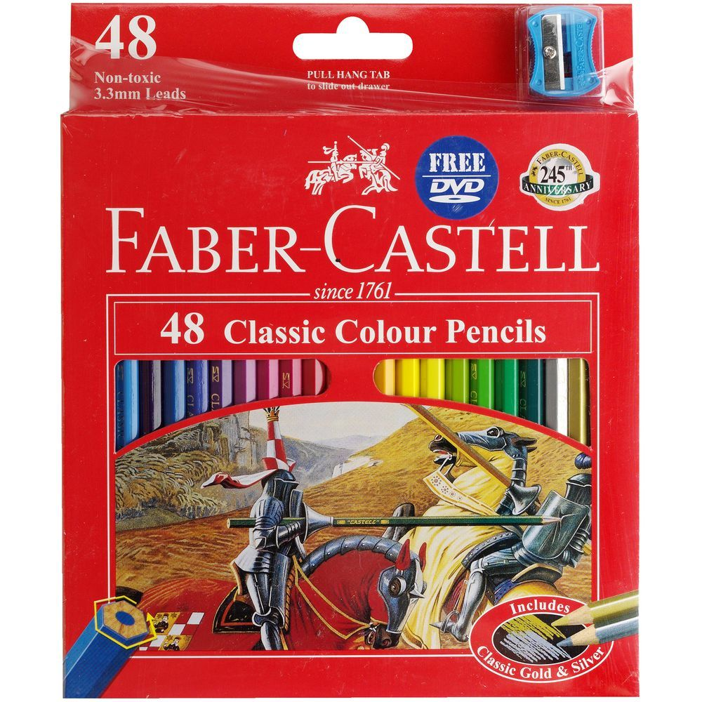 Buy Faber-Castell Classic: Coloured Pencils at Mighty Ape NZ