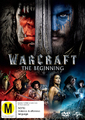 Warcraft: The Beginning on DVD