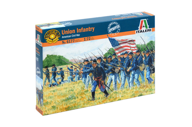 Italeri 1:72 Union Infantry Model Kit