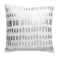 Bambury Zulu Cushion Cover (Silver)