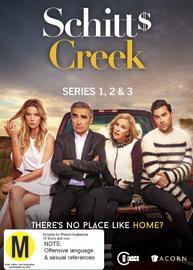 Schitt's Creek - The Complete First, Second & Third Seasons on DVD