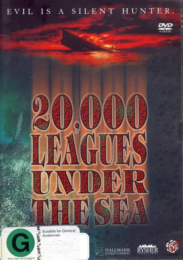 20,000 Leagues Under The Sea on DVD image