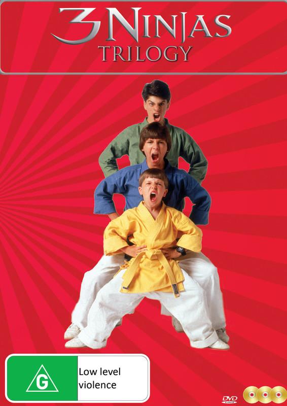 3 Ninjas Trilogy on DVD