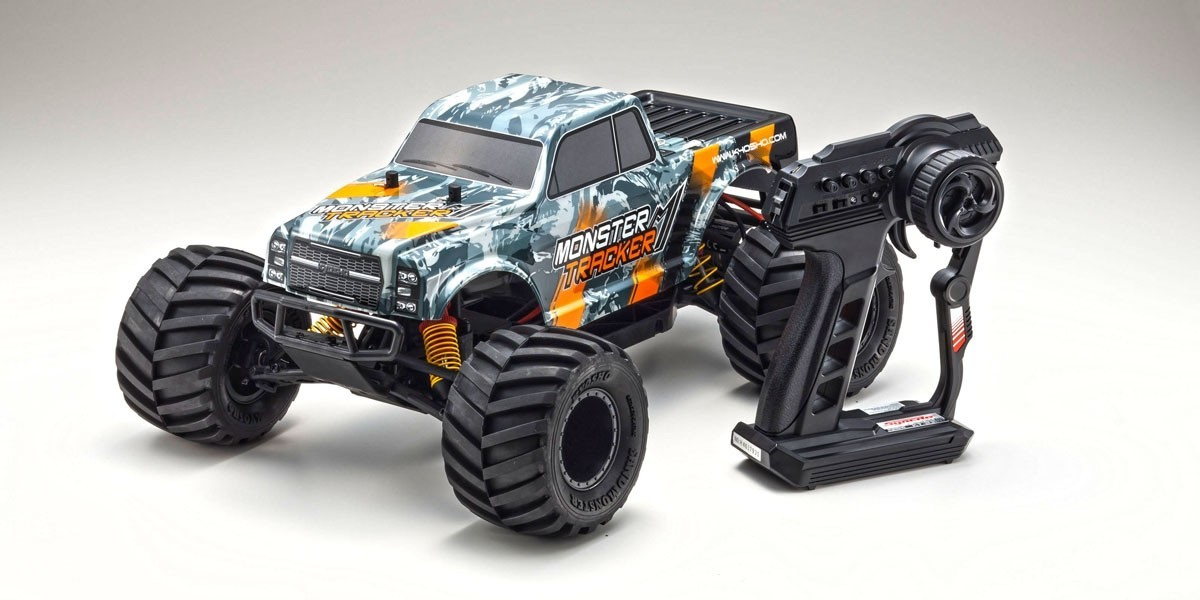 Kyosho 1/10 EP 2WD Monster Truck Readyset Type 2 - (Orange) image