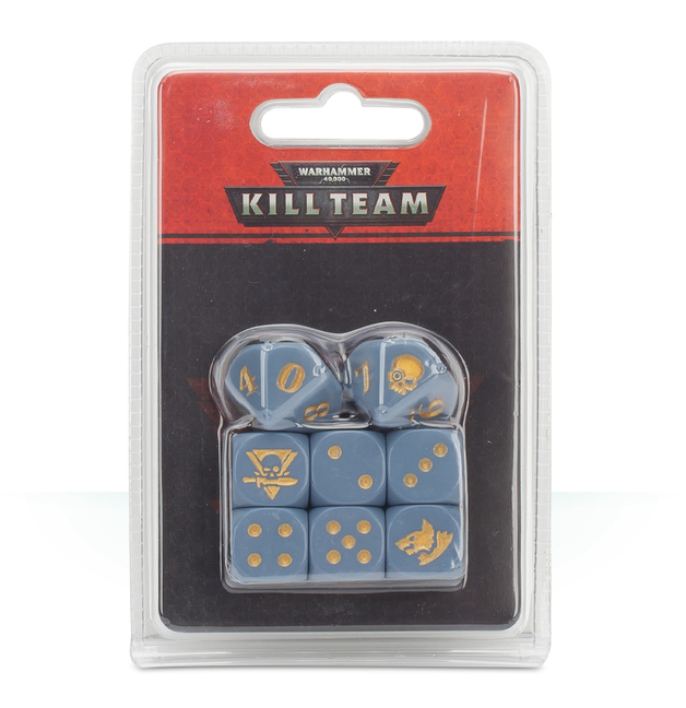 Warhammer 40,000: Kill Team - Space Wolves Dice Set