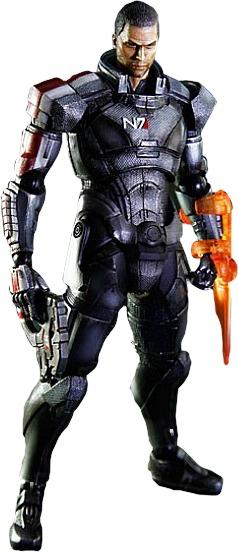Mass Effect: Commander Shepard (Male) - Play Arts Kai Figure