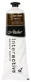 Atelier: Interactive Artists' Acrylic Paint - Raw Umber (80ml)