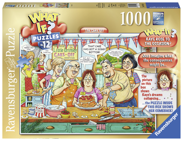 Ravensburger: 1,000 Piece Puzzle - What If? (The Cake)