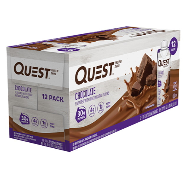 Quest Nutrition: Protein Shake - Chocolate (Box of 12)