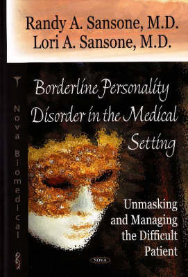 Borderline Personality Disorder in the Medial Setting by Randy A. Sansone image