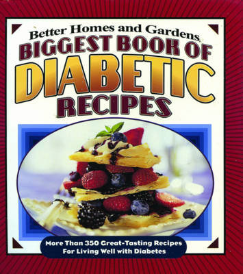 Biggest Book of Diabetic Recipes by Tricia Laning image