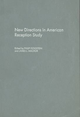 New Directions in American Reception Study by Philip Goldstein image