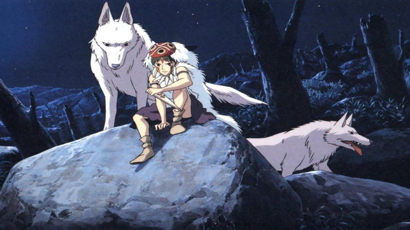 Princess Mononoke on Blu-ray image