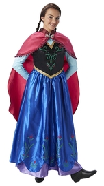 Disney Frozen: Adult Anna Costume (Large)