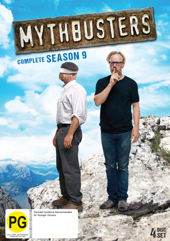 MythBusters: Season 9 on DVD