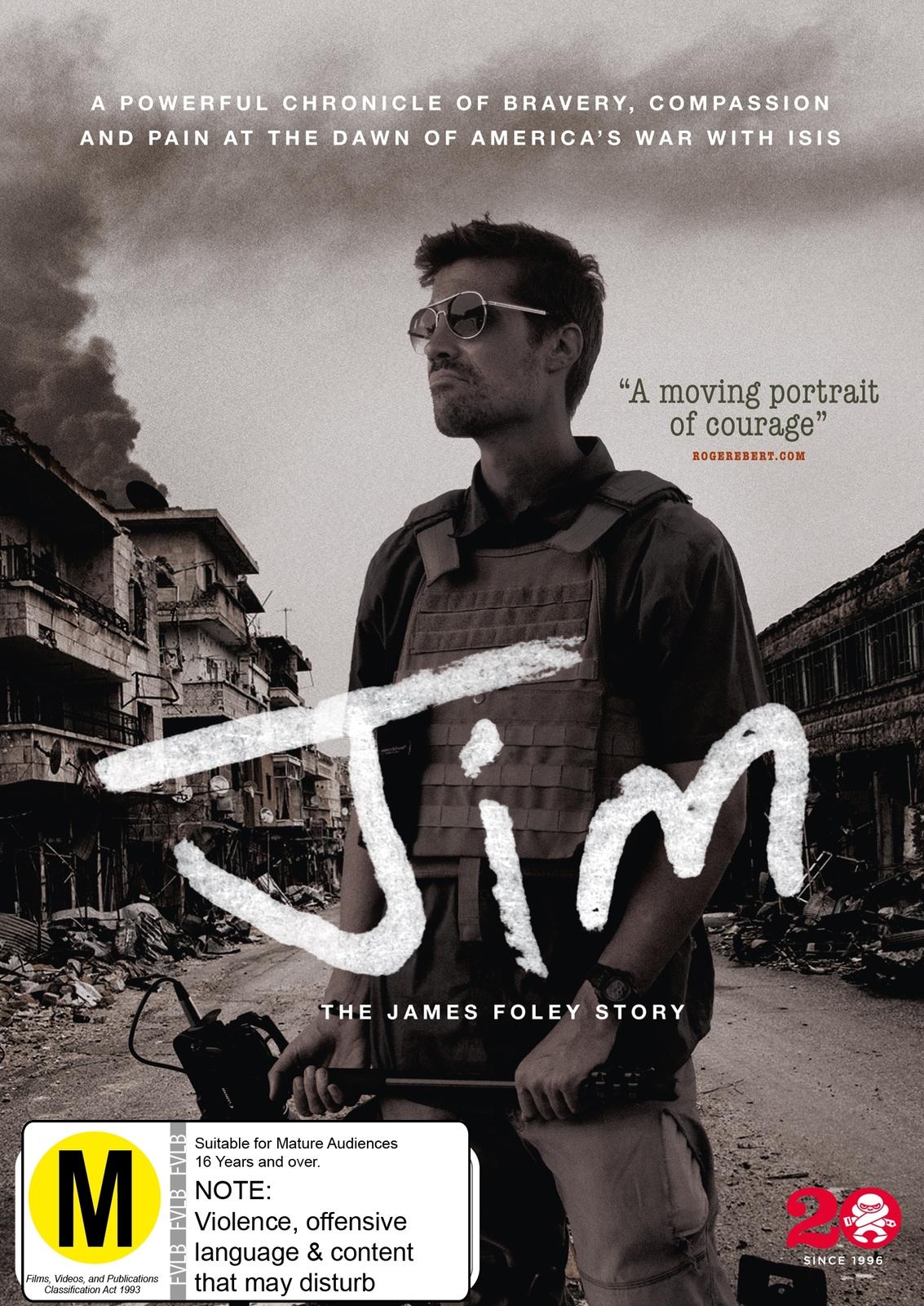 Jim: The James Foley Story on DVD image
