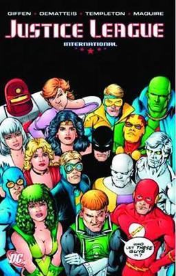 Justice League International Vol. 4 by Keith Giffen image