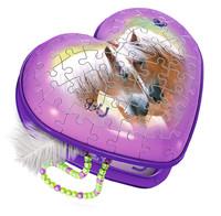 Ravensburger : Horses 3D Heart Box 54pc
