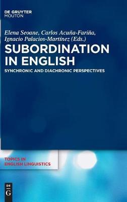 Subordination in English