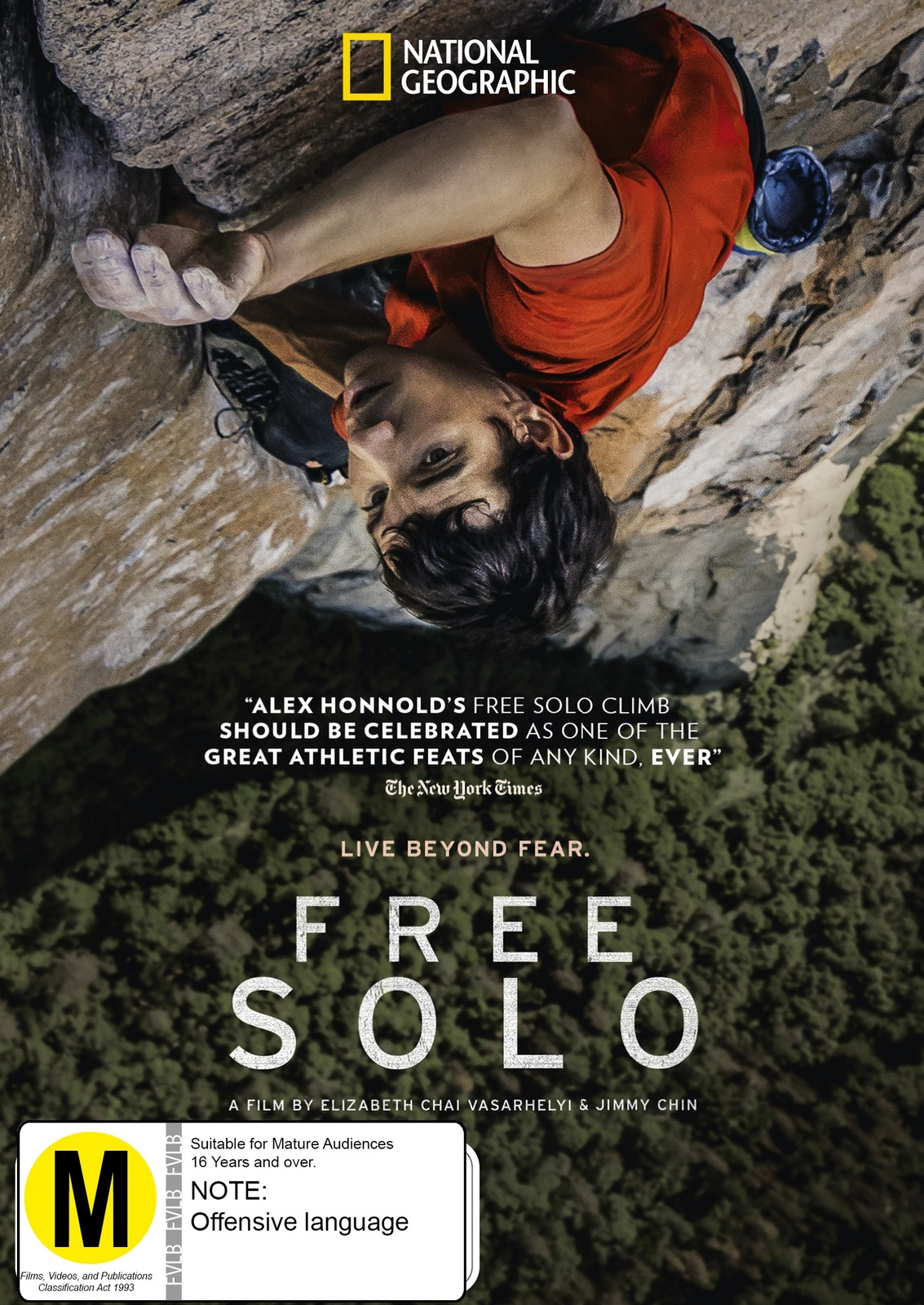 Free Solo on DVD image