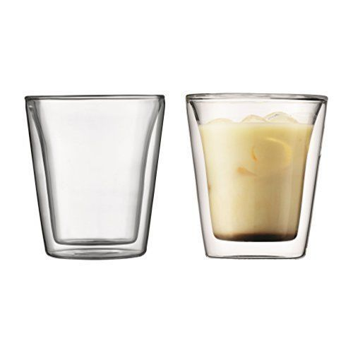 Bodum: Canteen Double Wall Glasses (200ml) - Box of 2